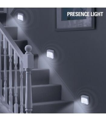 LED sienas lampiņa ar kustību sensoru