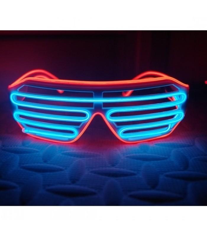 LED ballīšu brilles