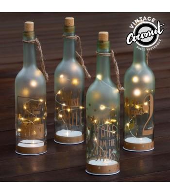 Dekoratīvā gaismas pudele
