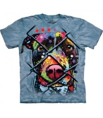 T-krekls Izvēlies adoptēt