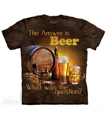 T-krekls Atbilde ir alus