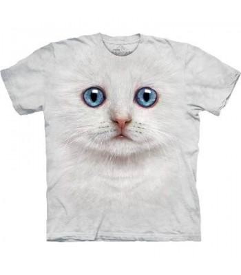 T-krekls Baltais kaķēns