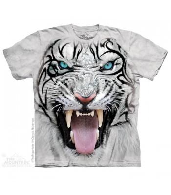 T-krekls Tīģeris baltais