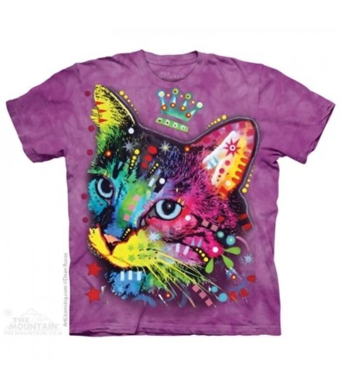 T-krekls Krāsainā kaķu princese