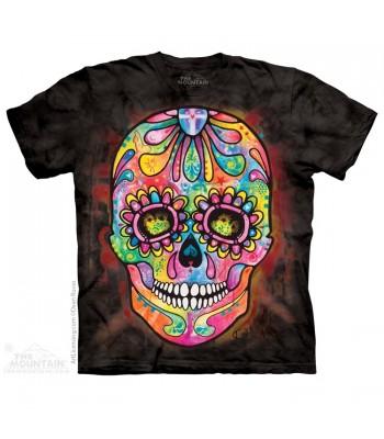 T-krekls Krāsainais galvaskauss