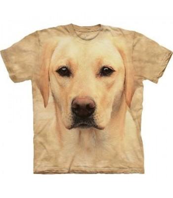 T-krekls Labradors dzeltenais