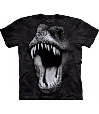 T-krekls Tumsā spīdošais T-rex