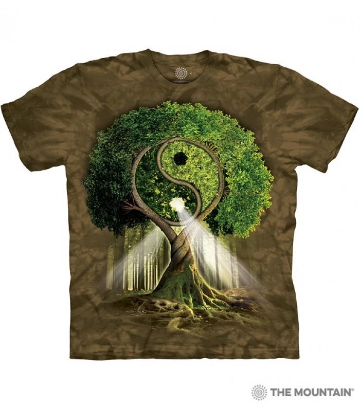 T-krekls Iņ un jaņ koks