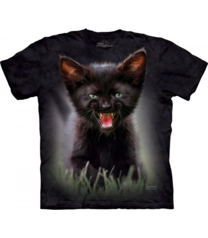 T-krekls Melnais kaķēns