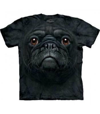 T-krekls Melnais mopsis