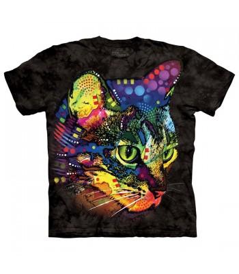 T-krekls Krāsainais kaķis