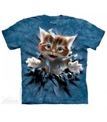 T-krekls Plēsīgais kaķēns