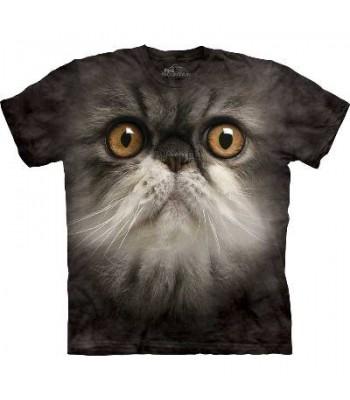 T-krekls Pūkainais kaķis