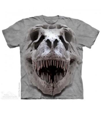 T-krekls T-rex galvaskauss