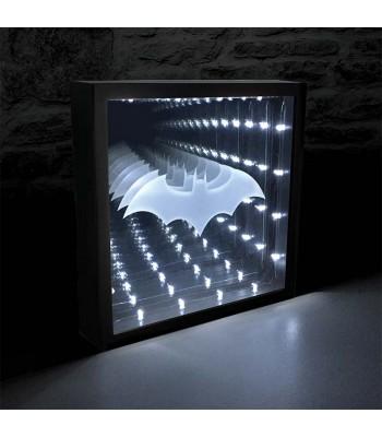 Batman bezgalības spoguļ-lampa