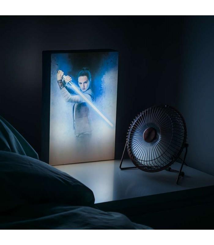 Star Wars pēdējais džedajs Luminart lampa
