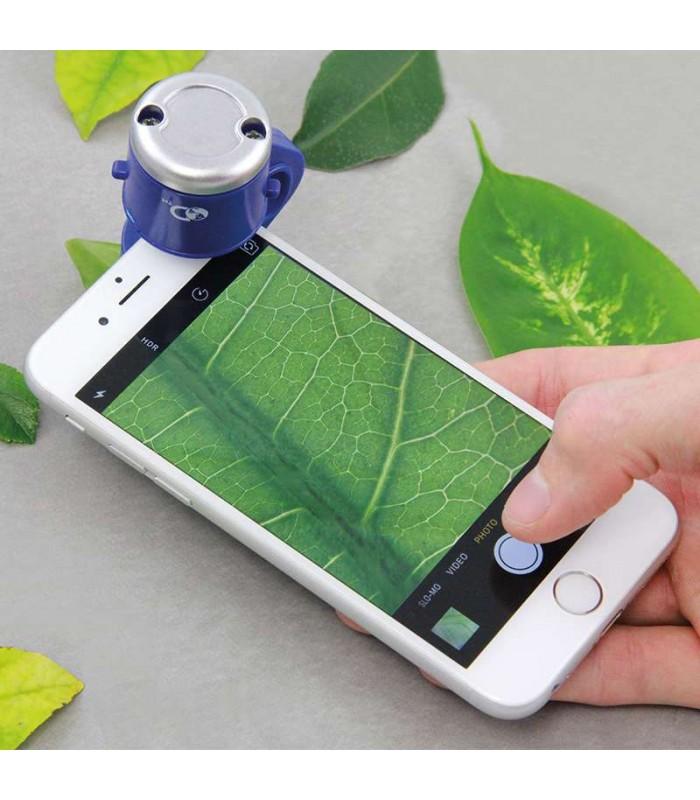 Discovery Channel mobilā telefona mikroskops