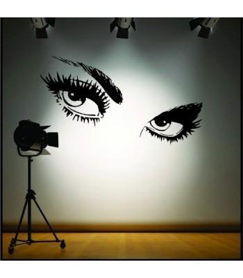 Dekoratīvā sienas uzlīme Odrijas skatiens