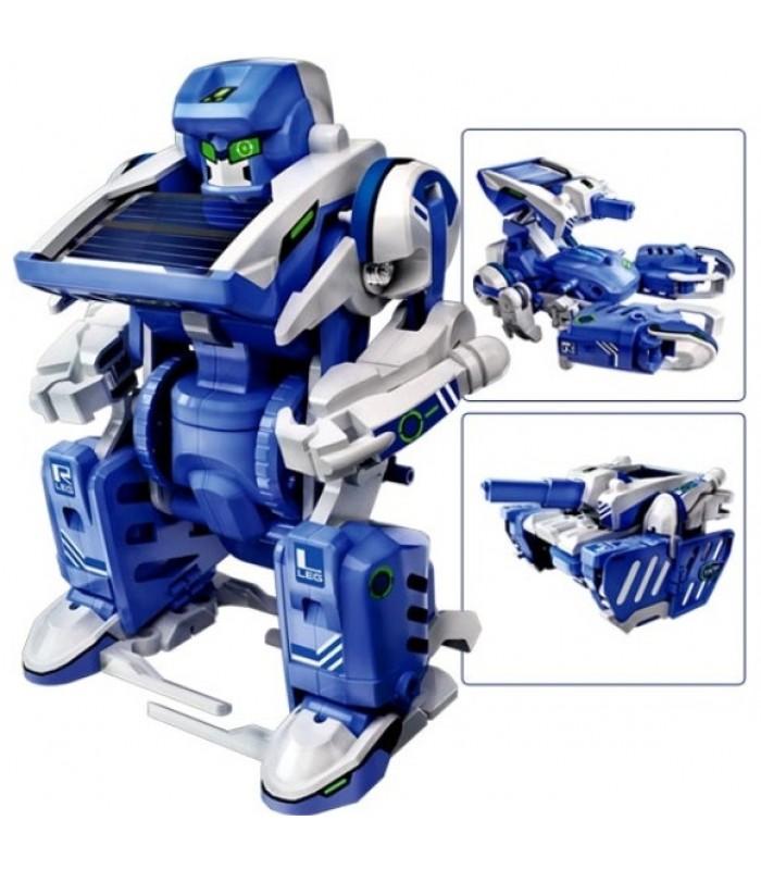 Robots konstruktors ar saules bateriju